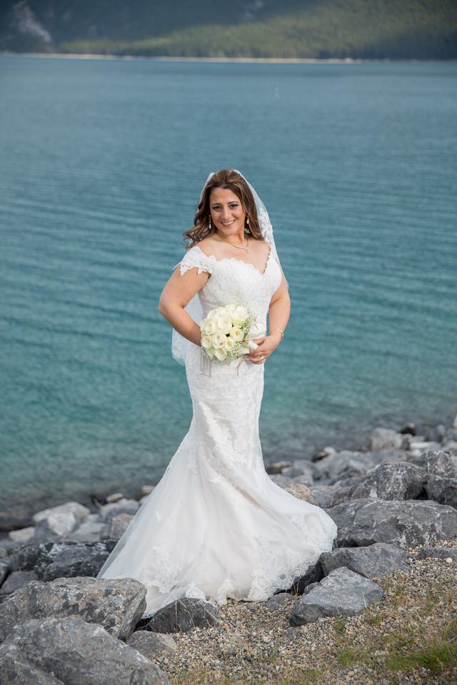 Lake Minnewanka Banff Wedding Photography