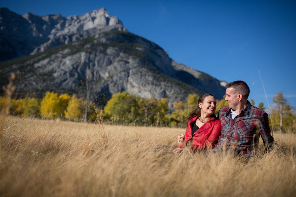 Banff Engagement Photos