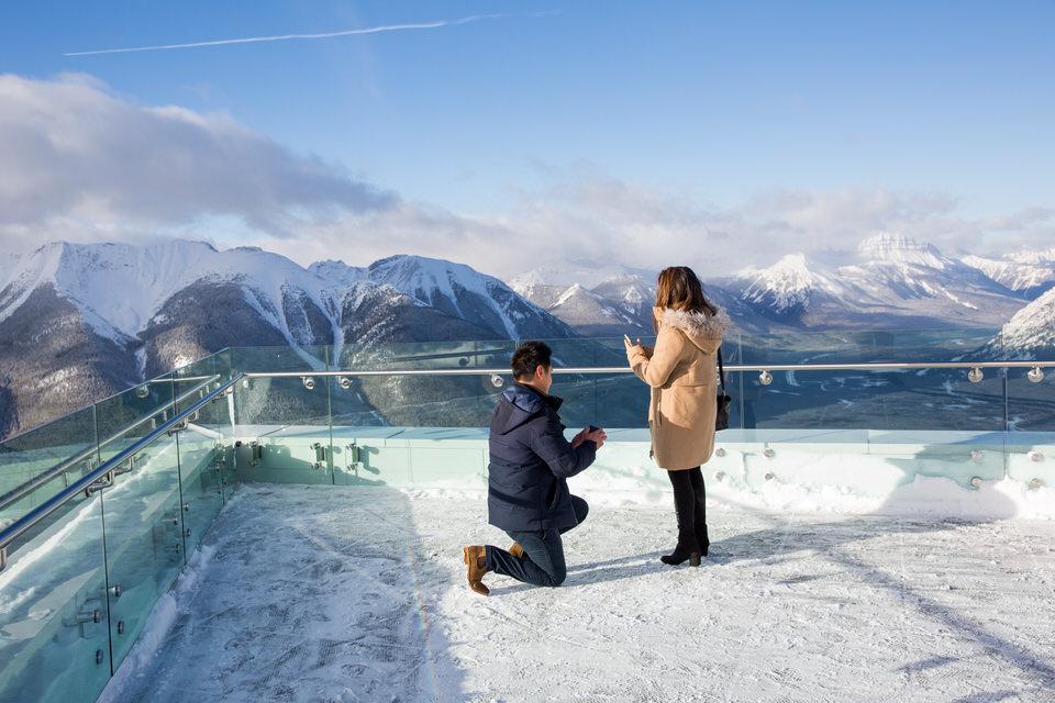 Surprise Proposal In Banff