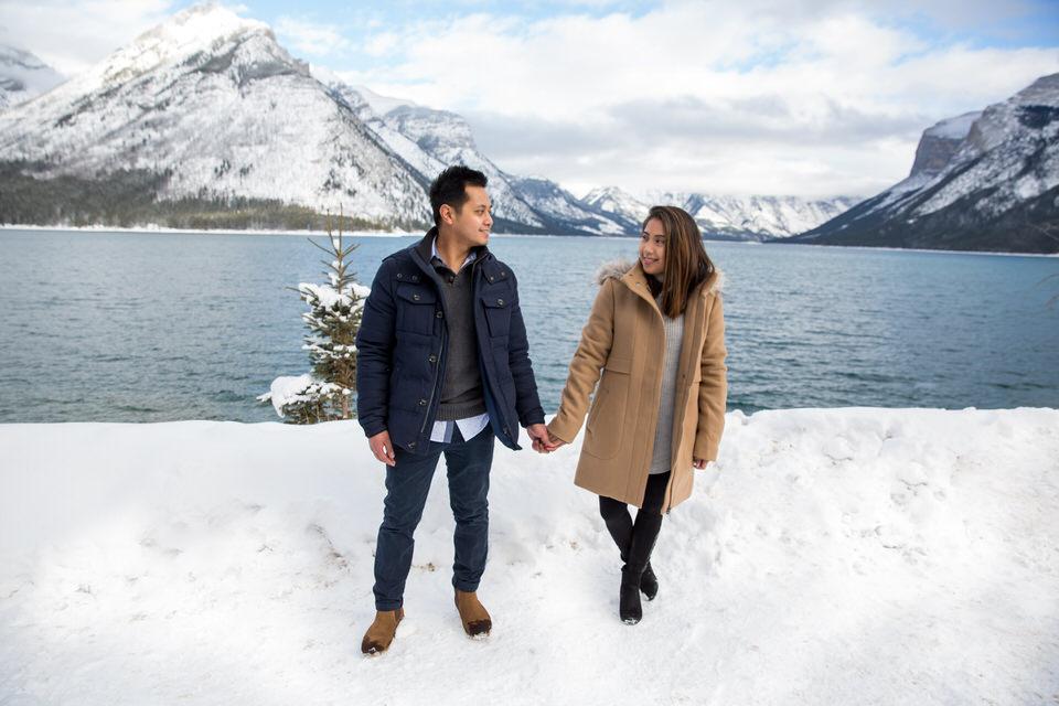 Secret Proposal in Banff