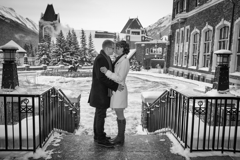 Banff Elopement Photographer