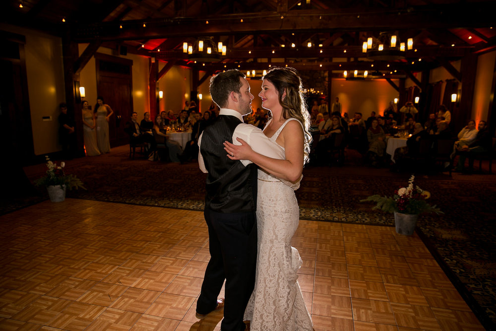 Wedding Reception photos Silvertip Resort Canmore, AB.