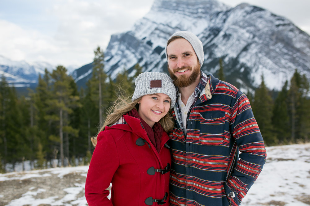 Engagement Photos Banff, AB