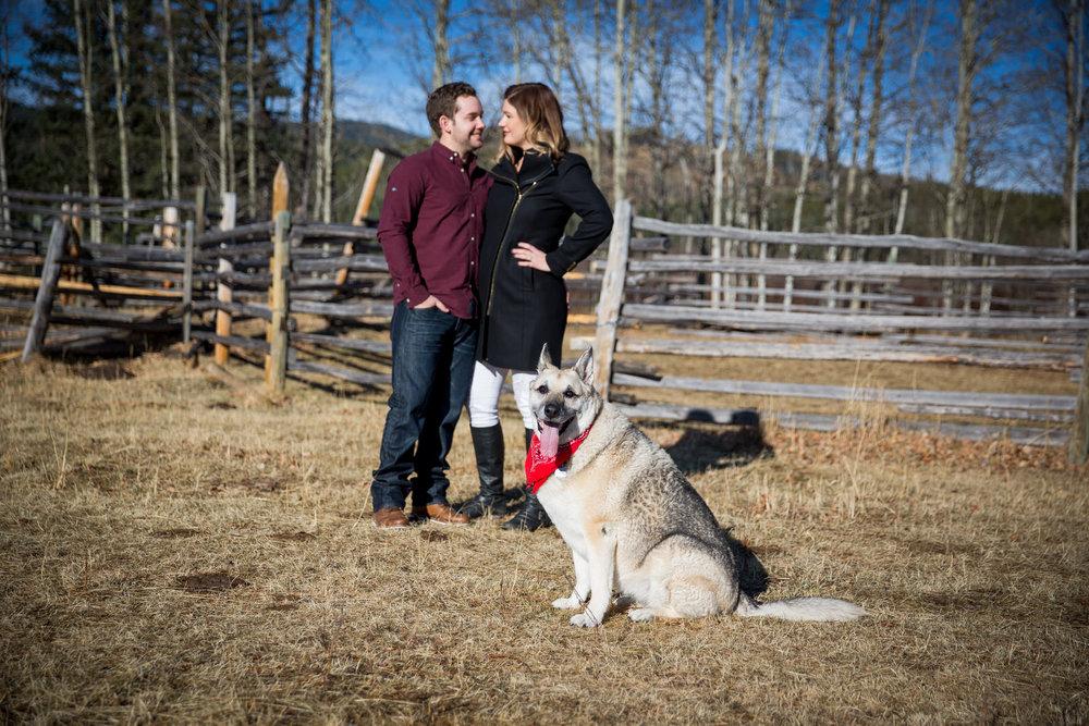 Best Engagement Photos Bragg Creek