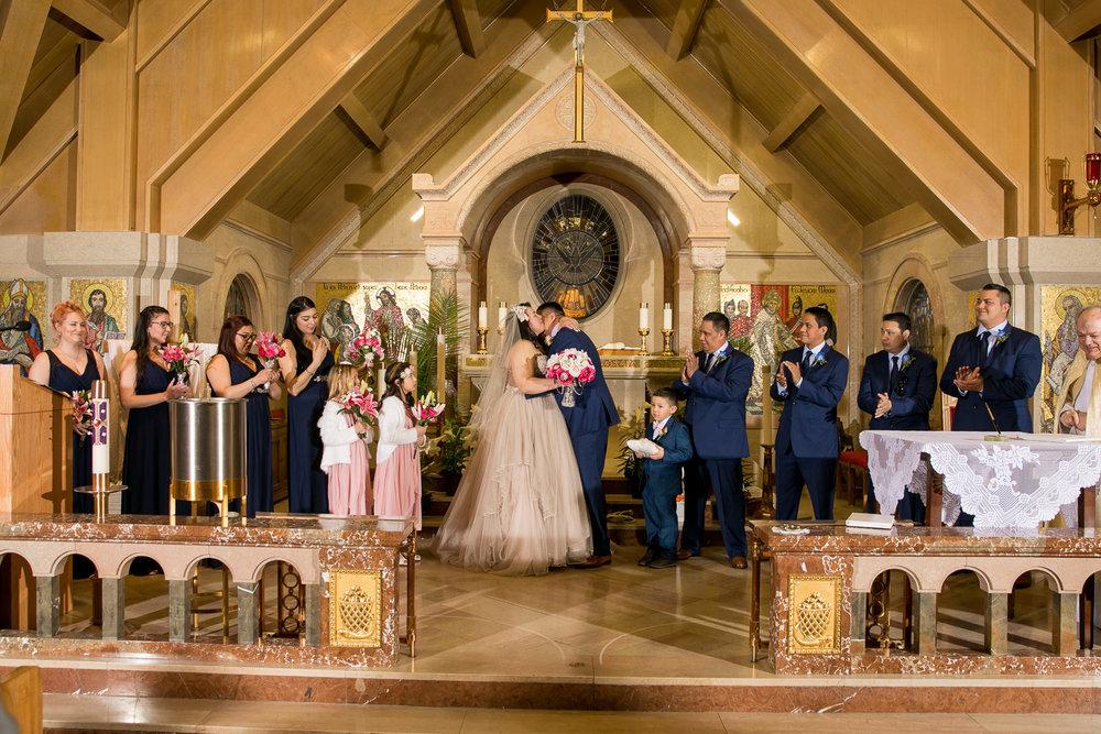 Wedding St Mary's Parish Banff