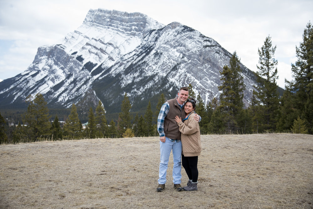 Surprise Proposal Banff