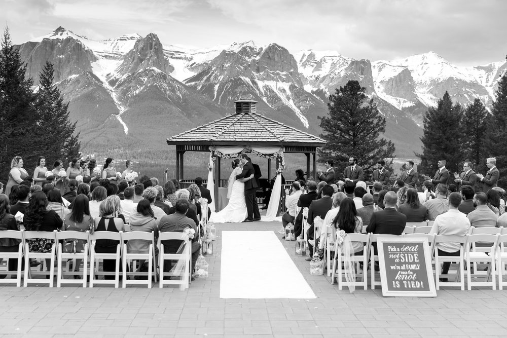 Silvertip Resort Wedding in Canmore