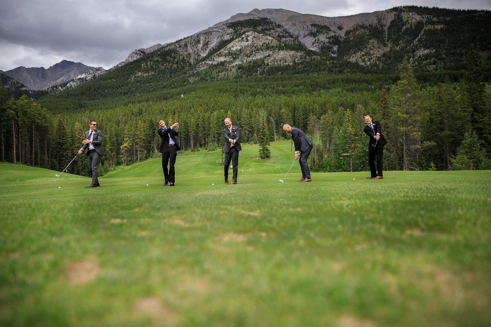 Wedding Silvertip Canmore