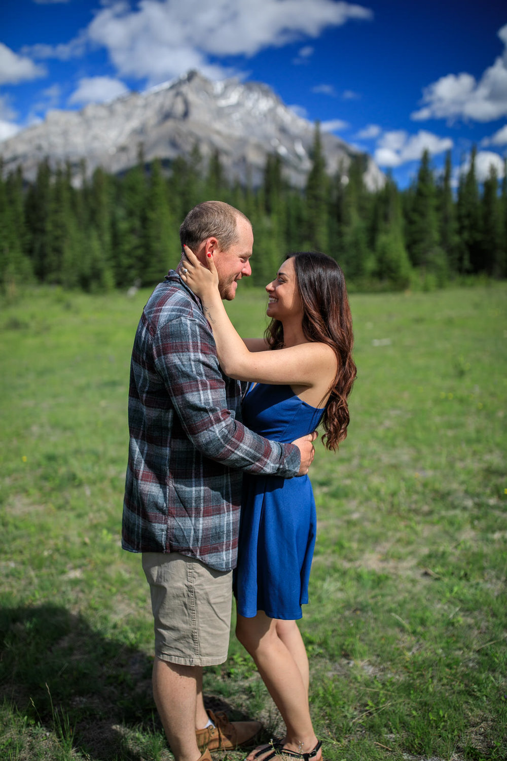 Engagement Photos Fairmont Golf Course Banff