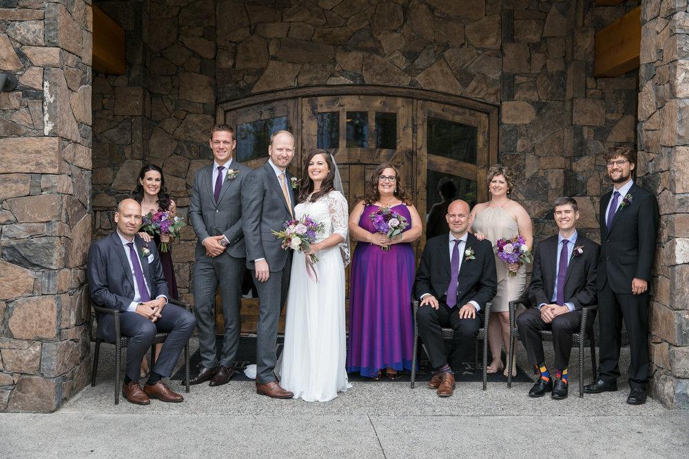Silvertip Resort Wedding Photos