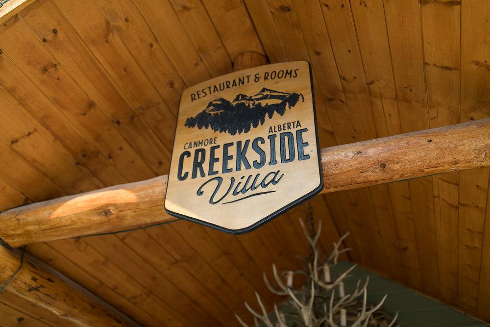 Wedding Creekside Villa