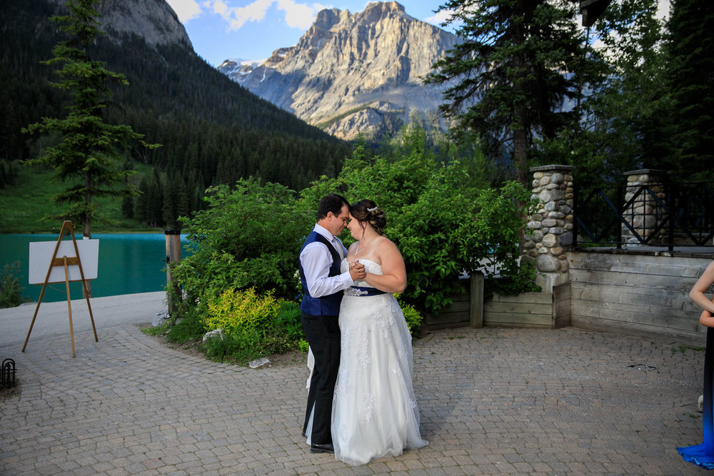 Wedding Photos from Emerald Lake