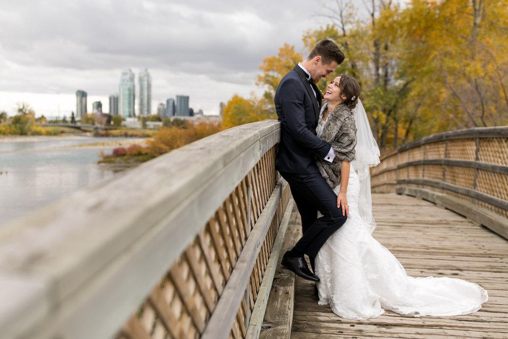 Wedding photos St Anthony's Catholic Parish Calgary