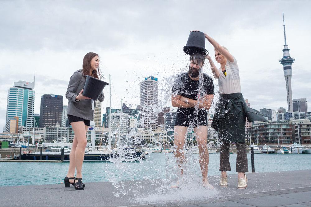 NZFW / Ice-bucket Challenge