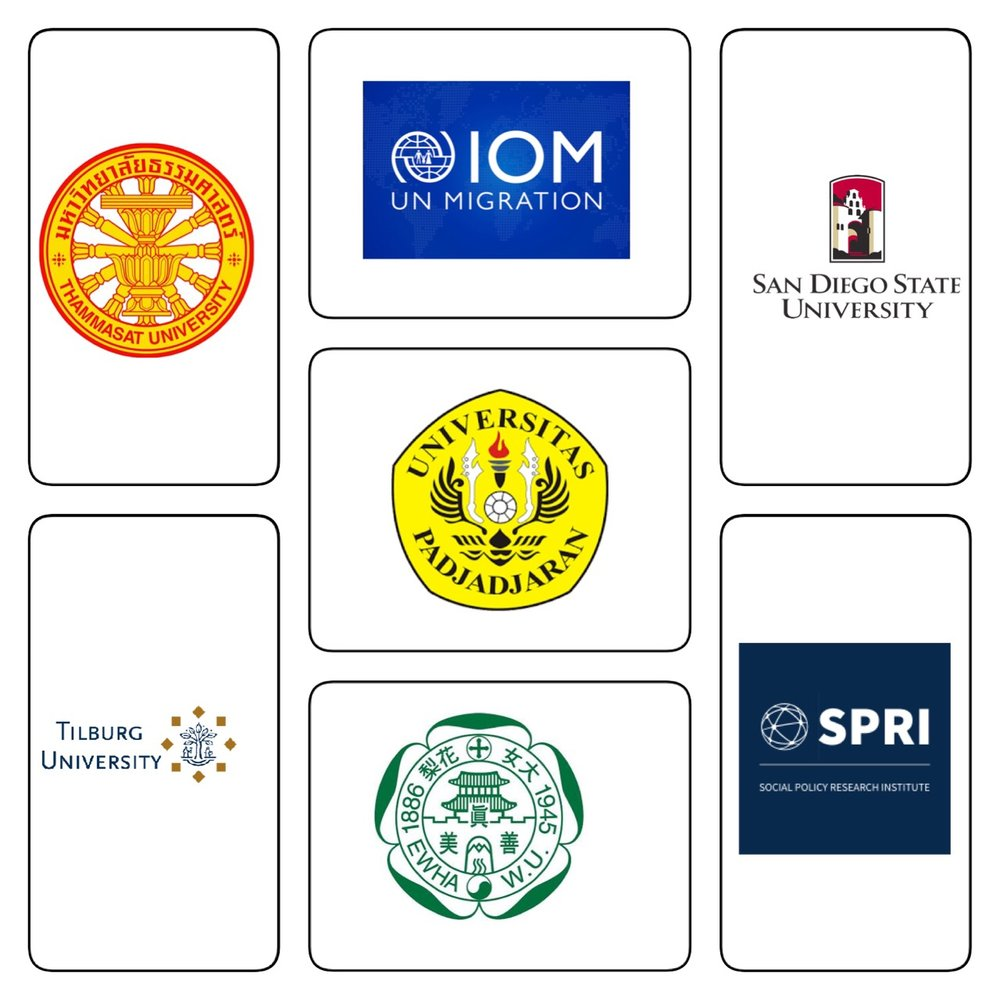 - Our programme has international partners, consisting of Tilburg University (Netherlands), San Diego State University (US), University of California (US), Graduate School of Social Welfare of Ewha Womans University (Republic of Korea), Faculty of Social and Political Sciences of the University of Padjadjaran (India), International Organization of Migration (IOM), United Nations, and Social Policy Research Institute (SPRI), Belgium. We have agreements of cooperation between various levels of establishment. In the case of San Diego State University (SDSU), our memorandum of understanding exists at both university and faculty levels. Furthermore, SDSU have been sending students to join internships and field visits in Thailand every year. SDSU also sends lecturers in order to exchange knowledge and experience with the faculty lecturers. SPD runs an exchange programme with the Department of Global Management of Social Issues of Tilburg University, where students of both universities get to exchange knowledge and experience.Moreover, students also have internship opportunities in various placements including the International Organization for Migration, which is part of the United Nations (UN), the Ministry of Foreign Affairs, and the National Economic and Social Development Board of Thailand.Cooperation with the Social Policy Research Institute SPRI (Belgium) to train overseas lecturers from the Royal University of Bhutan is also another platform of institutional cooperation. SPD held a Training of the Trainers (TOT), which was supported by the United Nations Children's Fund (UNICEF) in South Asia and Bhutan.SPD's recent outreach includes collaboration with a faculty from the University of Bath under the Newton Fund supported by the British Council of Thailand.Finally, SPD continuously promotes activities which are beneficial for students and strives to forge external network in order to sustain the relevance of social policy and development education.