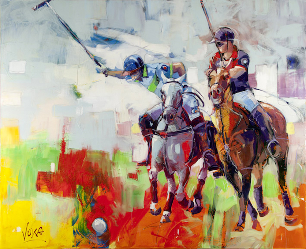 POLO, 180x220 cm/70,9x86,8 inch, acrylic on canvas