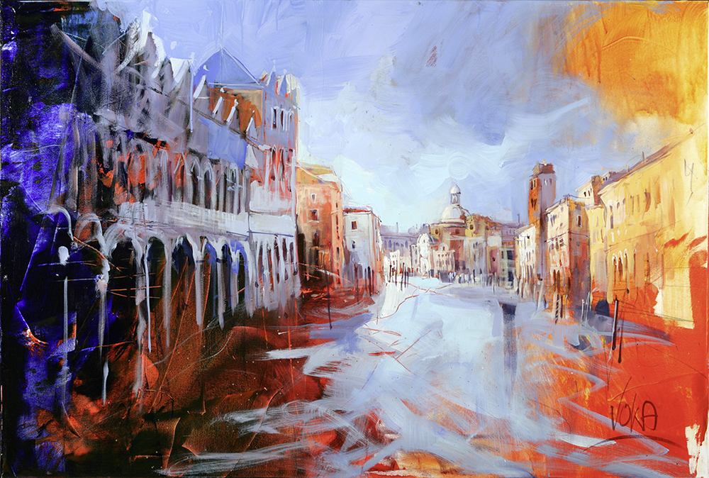 Venezia, 80X120cm / 31,5X47,2 inch, Acrylic on Canvas