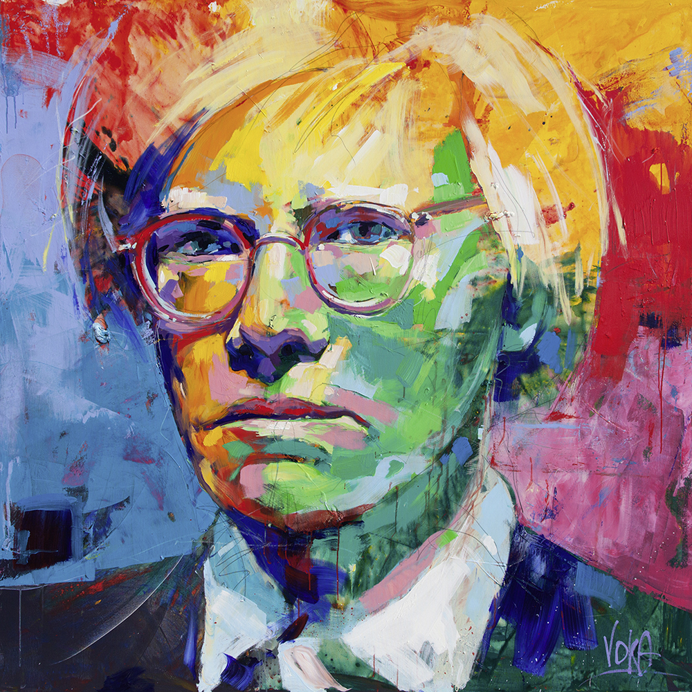 Andy Warhol, 190x190cm/ 74,8x74,8 inch, acrylic on canvas
