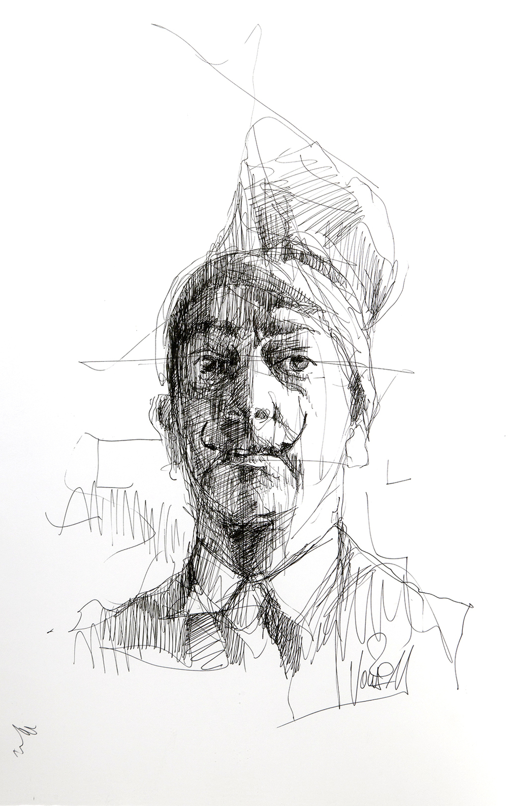 2011 05 Dali , Skizze 32,5x42 cm.jpg