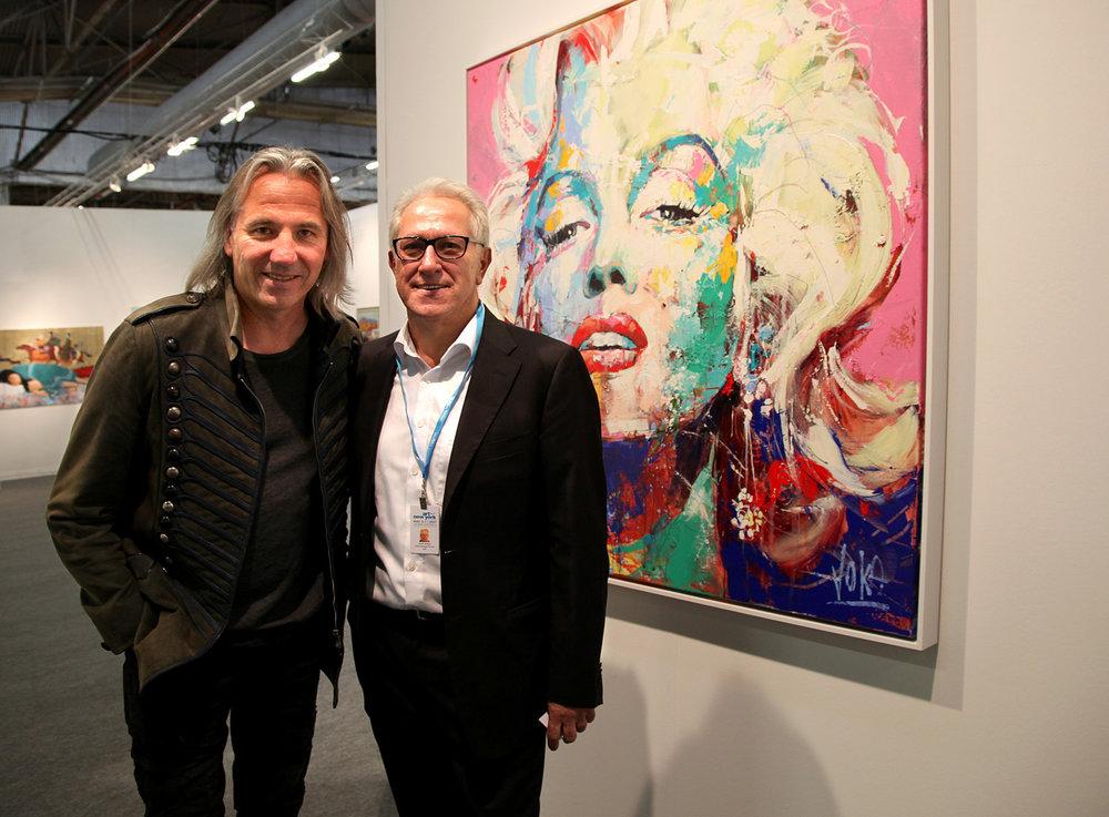 02 artnewyork, Voka Gerald Hartinger, Marilyn Monroe 130 x130 cm, Acrylic on Canvas.jpg