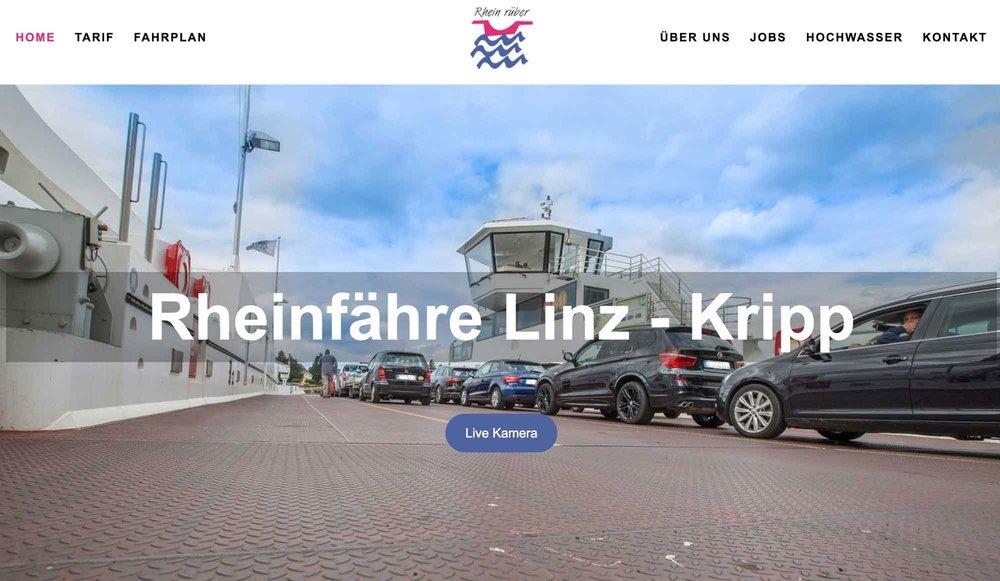 Rheinfähre Linz