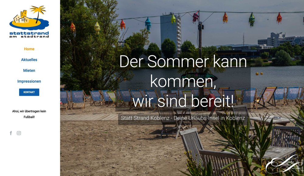 Statt Strand Koblenz
