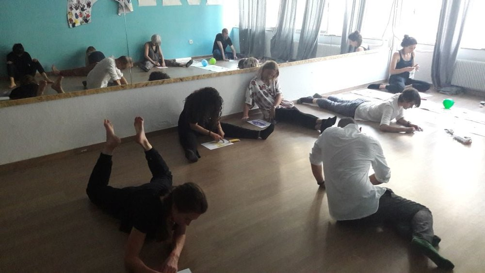 Dance, Movement and Art Therapy -
