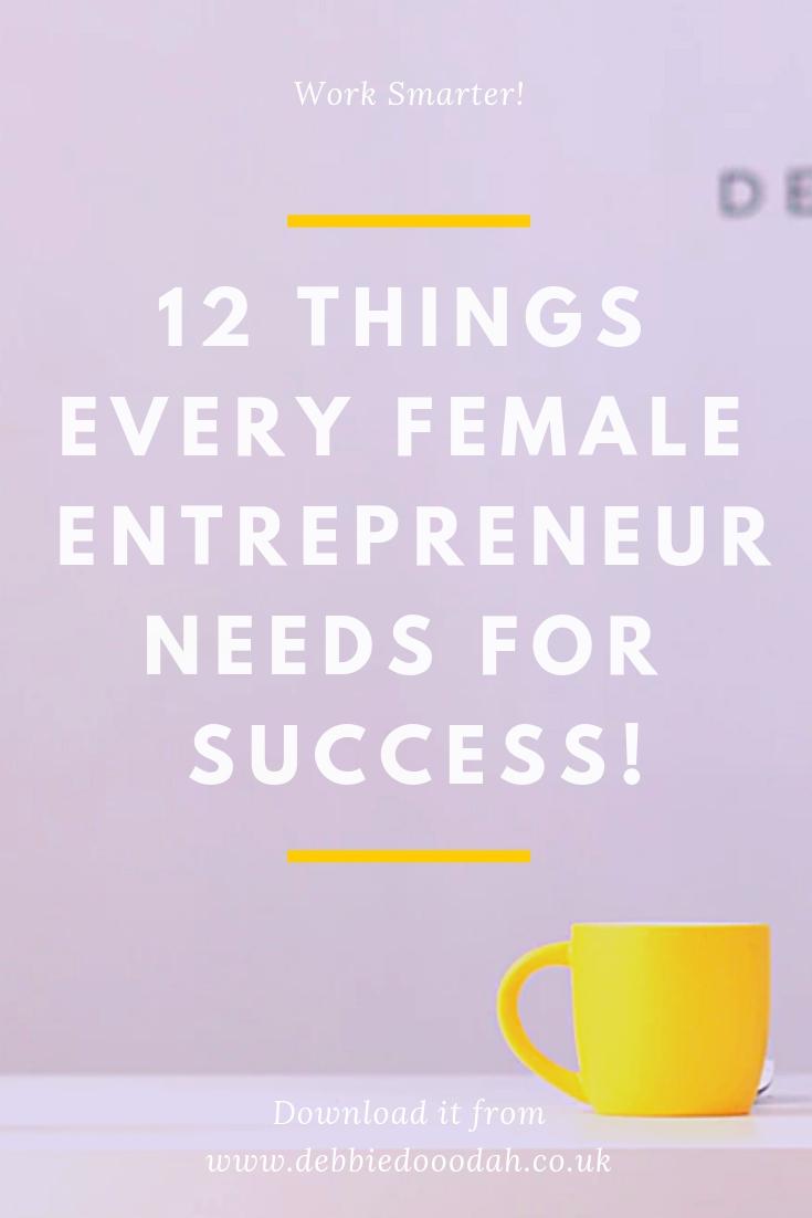 FEMALE ENTREPRENEUR NEEDS FOR SUCCESS!.jpg
