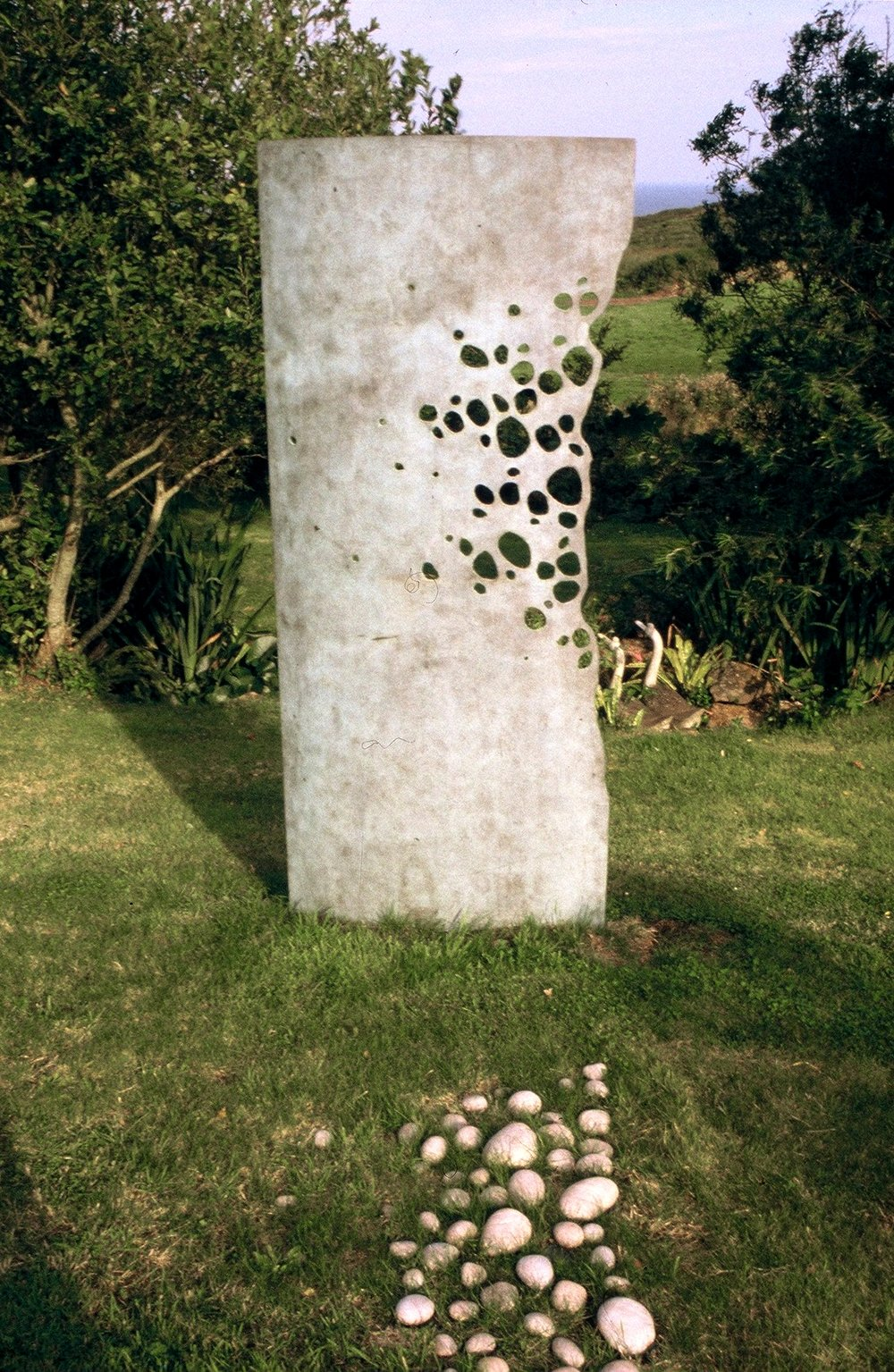 'A Small Walk no 2' garden installation