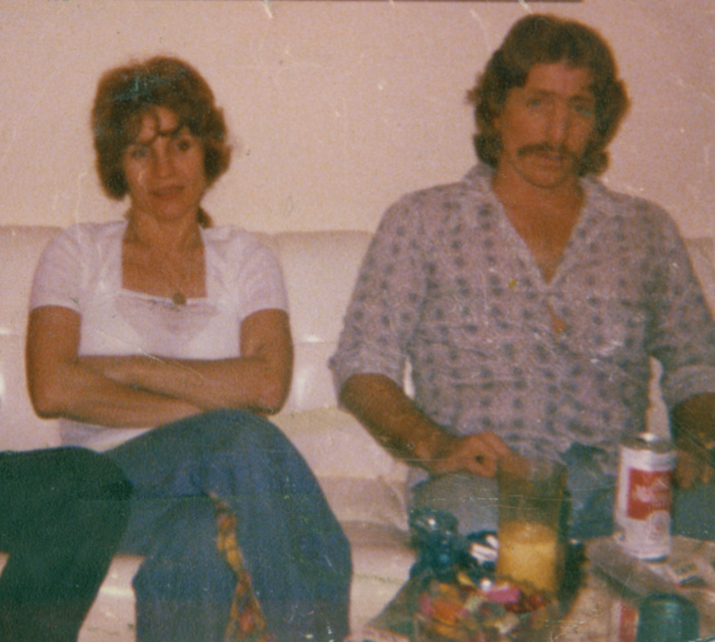 Dawn's Mom and Dad in 1977.
