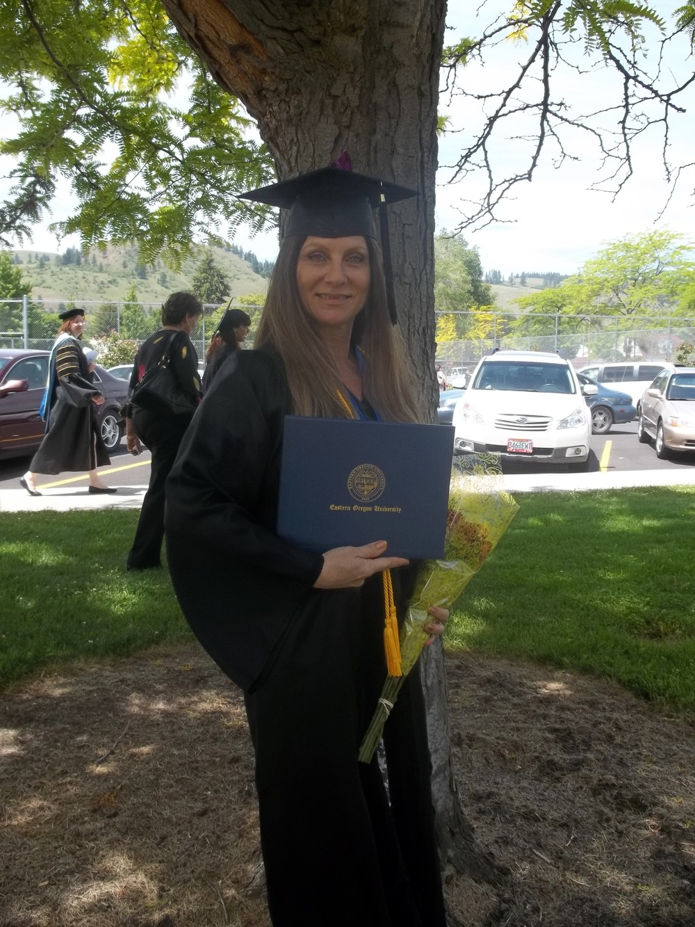 Graduation with honors in 2012