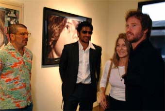 Gallery opening of Val Kilmer and Ali Alborzi artwork inspired by the making of Wonderland