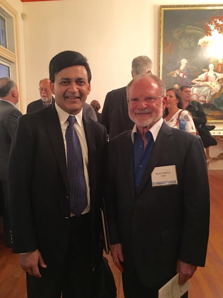 Humayun Chaudhry '82 & Harris Sarney '57