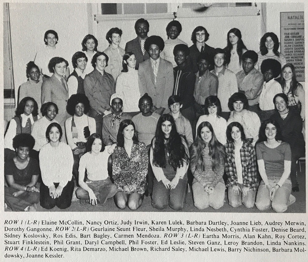 Midwood H.S. Mixed Chorus, 1972
