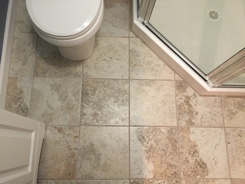Apartment Bathroom Floor