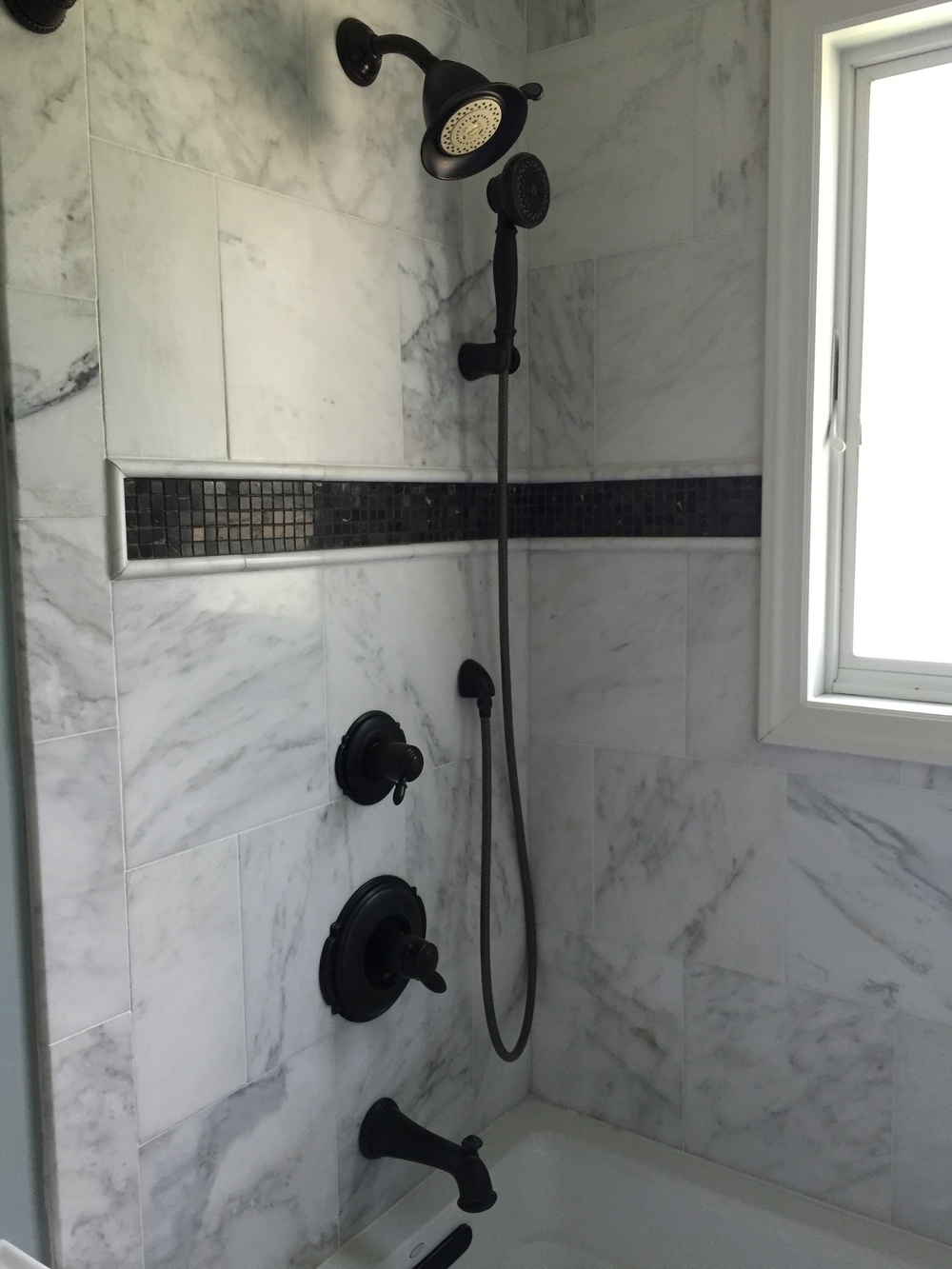 Bathroom Shower Carrera Marble