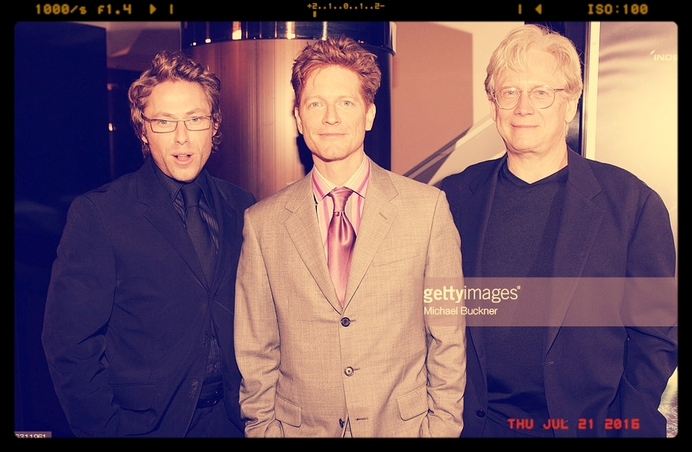 MICHAEL RODGERS WITH ERIC STOLTZ MICHAEL PREMIERE OF THE TRIANGLE