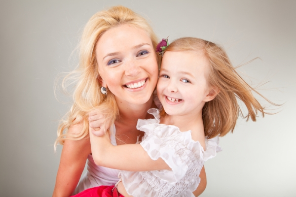 McNutt Pediatric Dentistry-mother-daughter