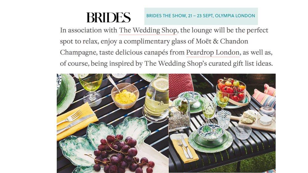 Brides the Show, September 2018