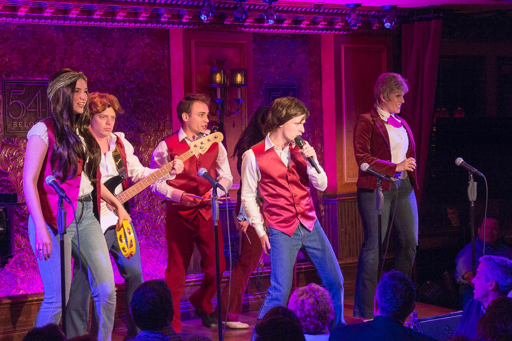 The Partridge Family at 54 Below - Photo by Tom Henning