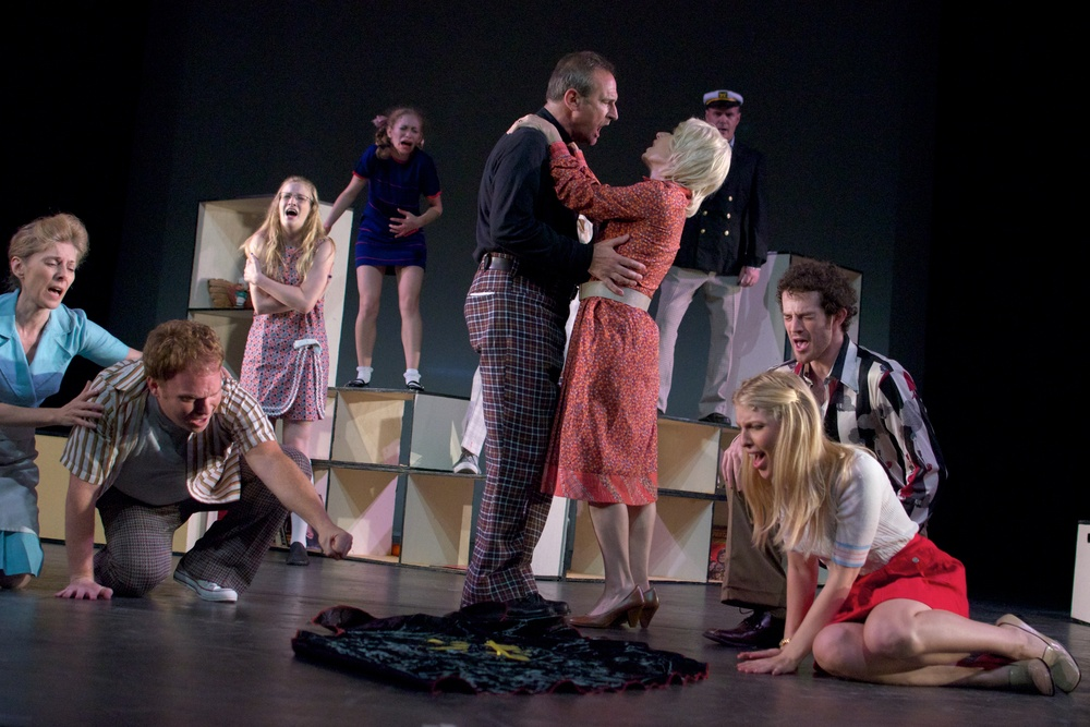 The cast at the 2011 FringeNYC- photo by Tom Henning