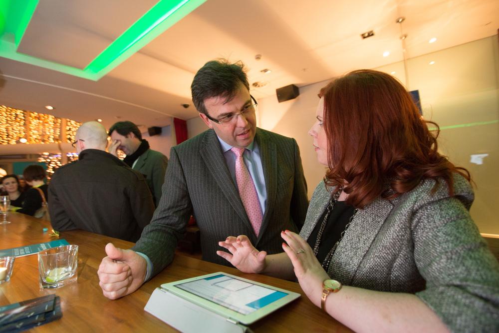 Mr Alistair Hamilton CEO Invest NI