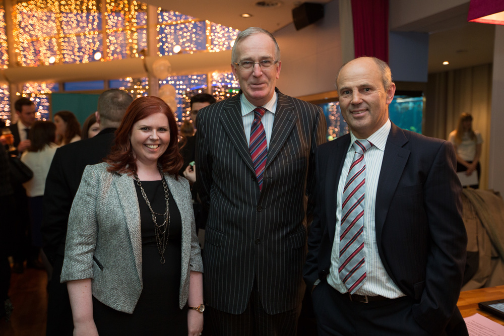Orlagh Kelly BL,CEO of Briefed, Mr Justice Stephens, Mr Justice Horner
