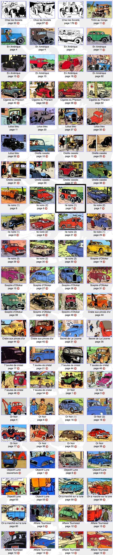 Cars of Tintin