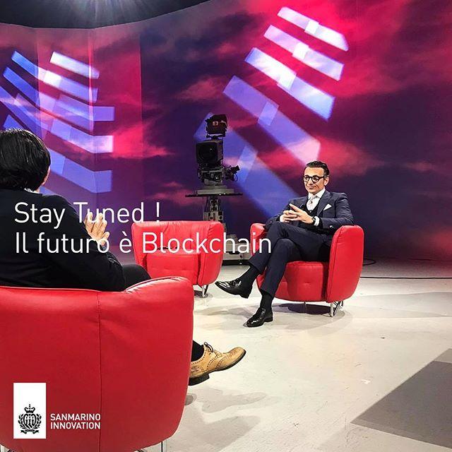 Stay Tuned! Il futuro è Blockchain! Questa sera a San Marino RTV trasmissione Indaco alle ore 20.50 in diretta streaming, sul canale 73 del Digitale Terrestre e di Tivù Sat e sul canale 520 di Sky - In studio Andrea Zafferani, Segretario di Stato - Sergio Mottola Presidente @sanmarinoinnova - Sara Noggler, Coordinatrice Tavolo Tecnico Blockchain - Marco Busi, CEO Carisma RCT -Guido Cicognani CEO ASA - In collegamento Alessandro Palombo, CEO Jur -  Andrea Roberto Bifulco, Membro Comitato Scientifico - Alessandro Zamboni, CEO AvantGarde Group.***#blockchain #blockchaintechnology #innovation #tv #video #blockchainitalia #startup #startupitalia #sanmarino