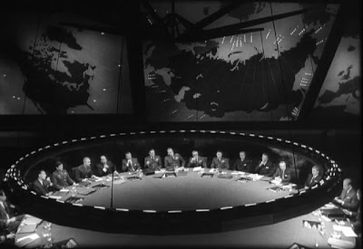 "The War room of ""Dr Strangelove"" was a perfect fit for the Theme ""One Room"""