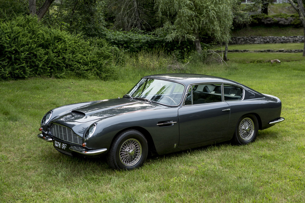 1967 Aston Martin DB6 Vantage - Factory Left Hand Drive - SOLD