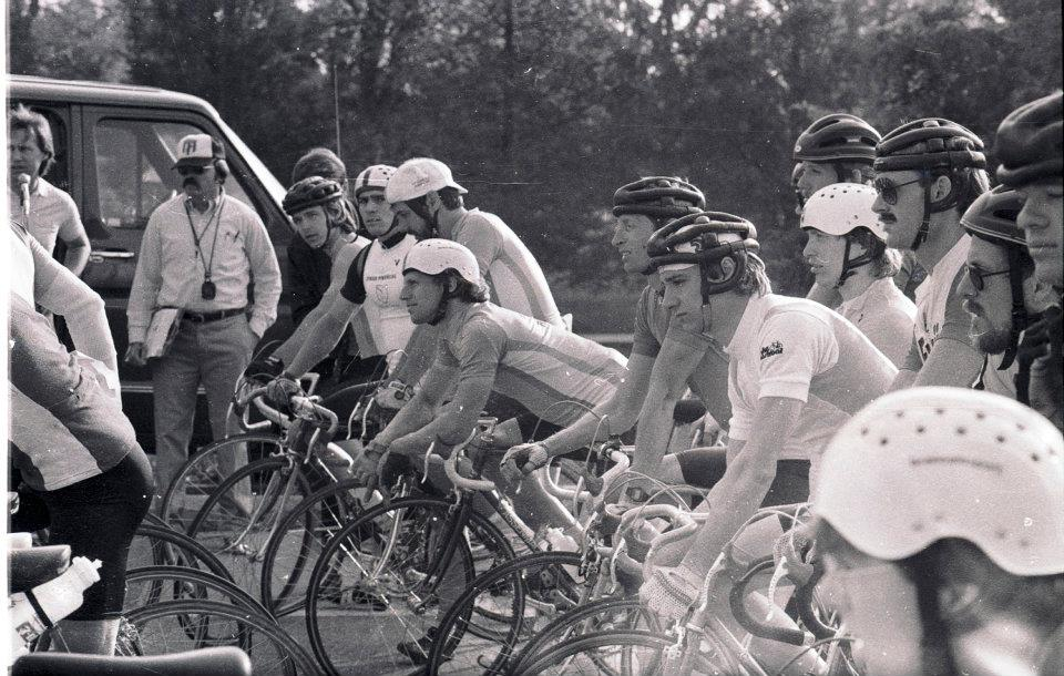 Olympic Trials selection race at Camp Dearborn in 1984.