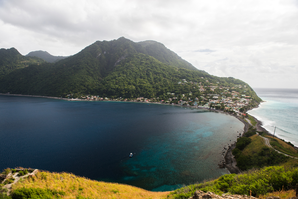 Scott's Head. Dominica, French West Indies
