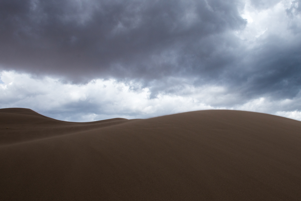 Great Sand Dunes National Park. Colorado